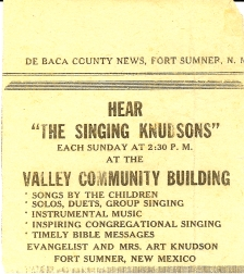 The Singing Knudsons