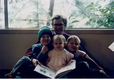 Joe with Eric, Jenna and Jason