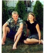 Jason and Jenna - August 2001