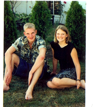 Jason and Jenna - August 2001