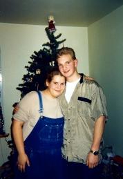 Jason and Alina, best friends