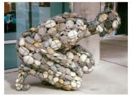 """The weight of grief"" by artist Celeste Roberge"